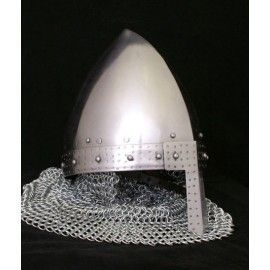 VIKING HELMET WITH CHAINMAIL AVENTAIL