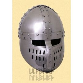 NORMAN SPANGENHELM WITH FACE-PLATE (size S)