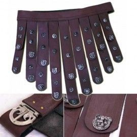 LEATHER APRON BELT