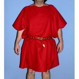 TUNIC MILITARY (RED WOOL)