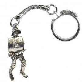ROMAN THRACIAN GLADIATOR KEY RING