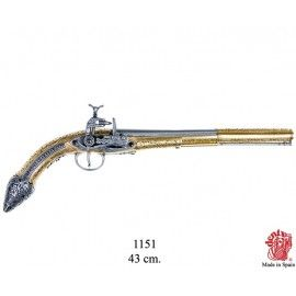 19th Century Miquelet Flintlock Pistol - 1151